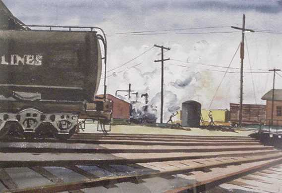 Joseph Edward Knowles - Tanker Yard Workers