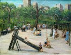 Title: Central Park, New York , Date: 1948 , Size: 22 x 28