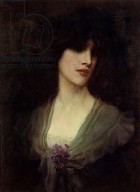 George Henry Boughton - Enshadowed Rapture