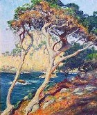 Title: The Vista from Point Lobos , Date: sold , Size: 18