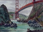 Title: Fishing Under the Golden Gate , Size: 22