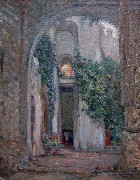 Title: In the Alcazar, Sevilla, Spain , Date: 1926 , Size: 21