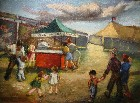 Title: A Day at the Circus , Date: circa 1940s , Size: 9
